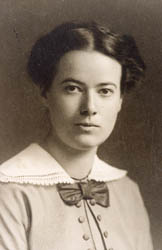 Ilse Peters als Studentin in Berlin 1913/1914
